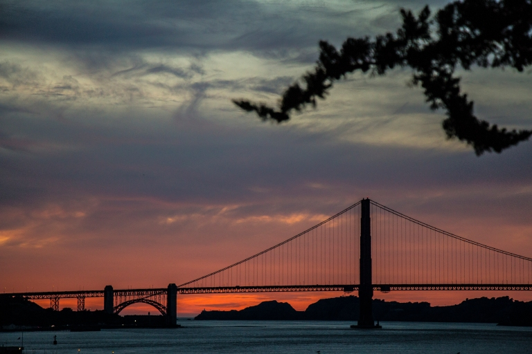 sunset-golden-gate-bridge-clouds-tree-silhouette-san-francisco