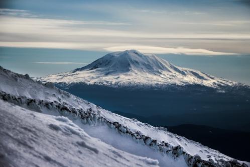 Mount Adams looking real creamy.