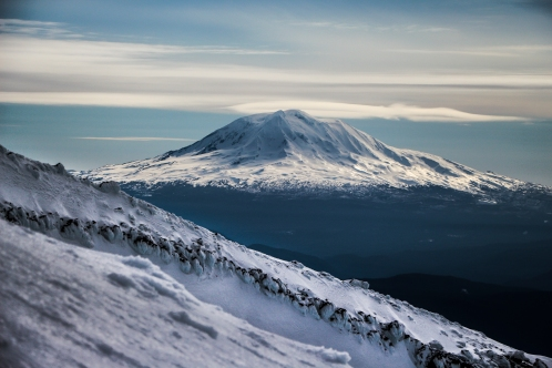 Mount Adams looking real creamy.